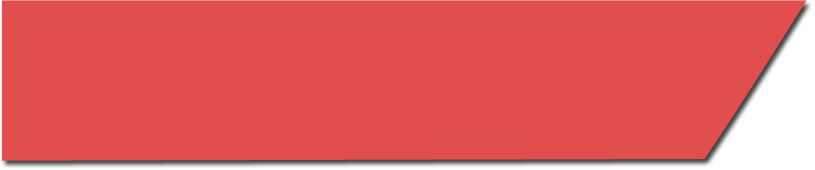 red banner with text